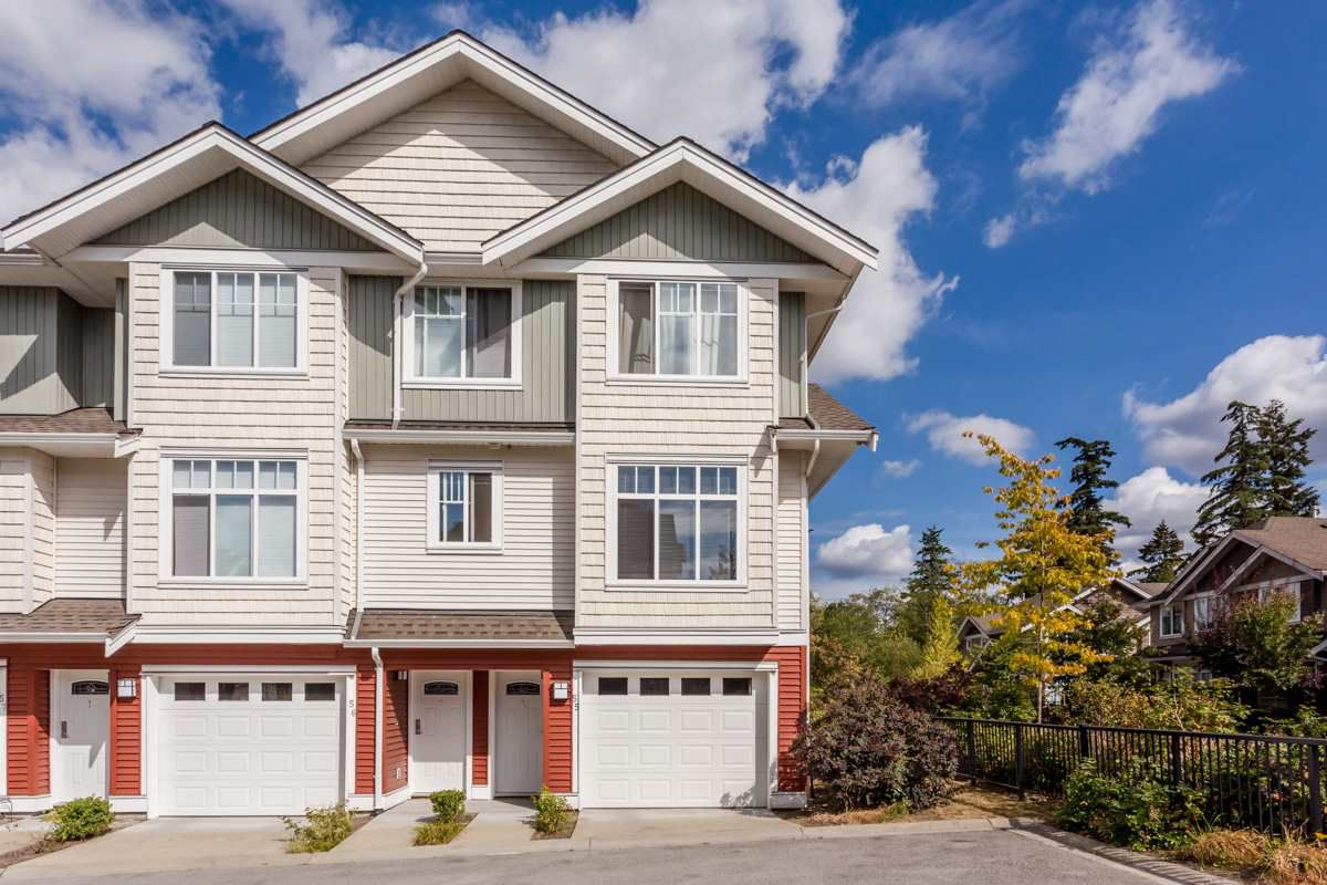 "Main Photo: 55 19480 66 Avenue in Surrey: Clayton Townhouse for sale in ""Two Blue II"" (Cloverdale)  : MLS®# R2106507"