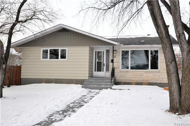 Main Photo: 11 Pitcairn Place in Winnipeg: Windsor Park Residential for sale (2G)  : MLS®# 1802937