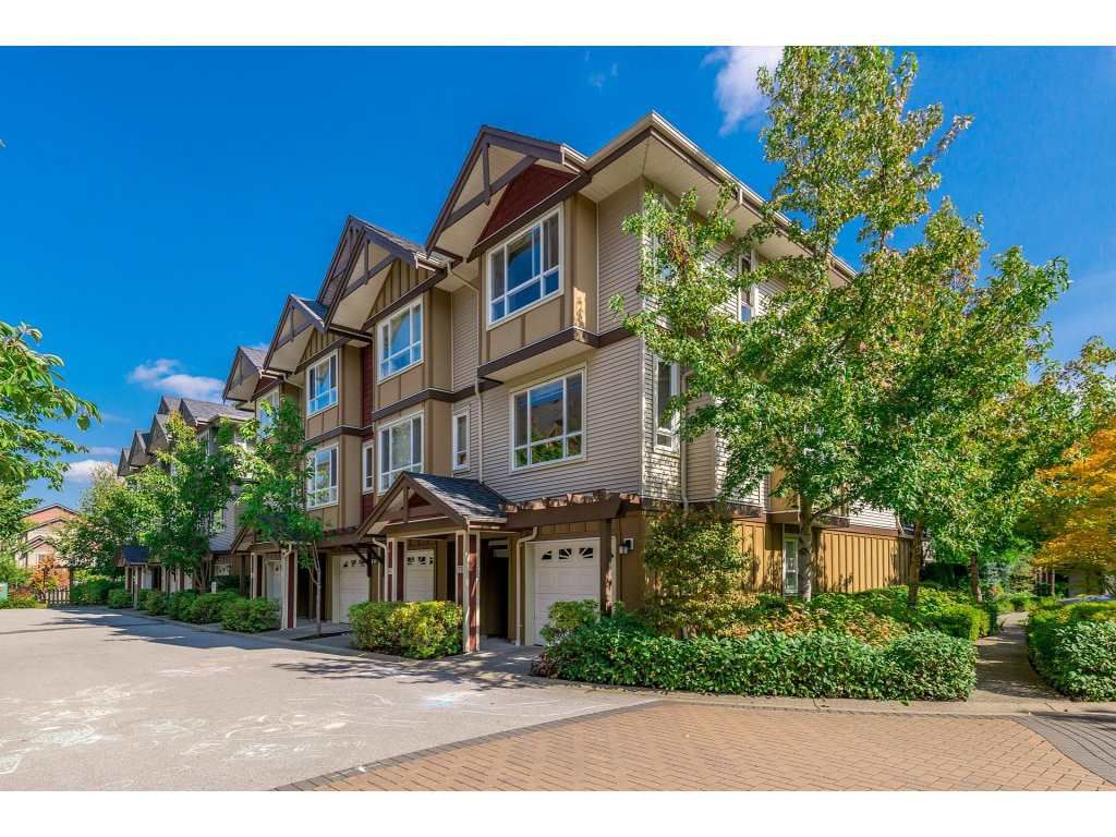 "Main Photo: 79 7088 191 Street in Surrey: Clayton Townhouse for sale in ""Montana"" (Cloverdale)  : MLS®# R2307910"