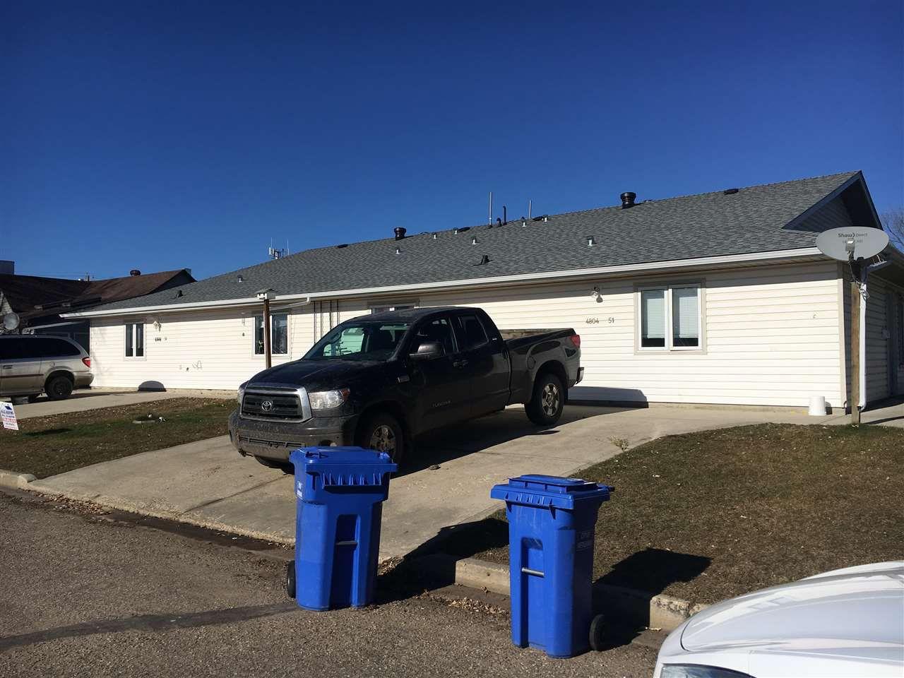 Main Photo: A,B,C,D 4804 51 Avenue: Wetaskiwin House Fourplex for sale : MLS®# E4132956