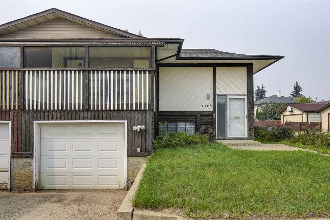 Main Photo: 3708 34A Avenue in Edmonton: Zone 29 House Half Duplex for sale : MLS®# E4139954