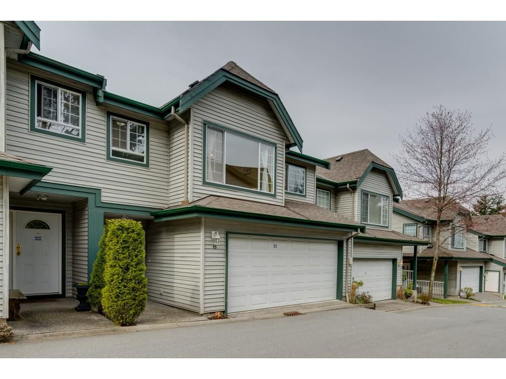 """Main Photo: 15 7465 MULBERRY Place in Burnaby: The Crest Townhouse for sale in """"SUNRIDGE"""" (Burnaby East)  : MLS®# R2352094"""