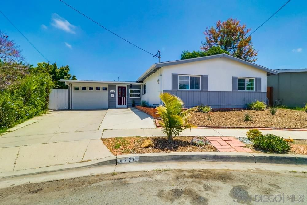 Main Photo: CLAIREMONT House for sale : 3 bedrooms : 4771 Seaford Place in San Diego