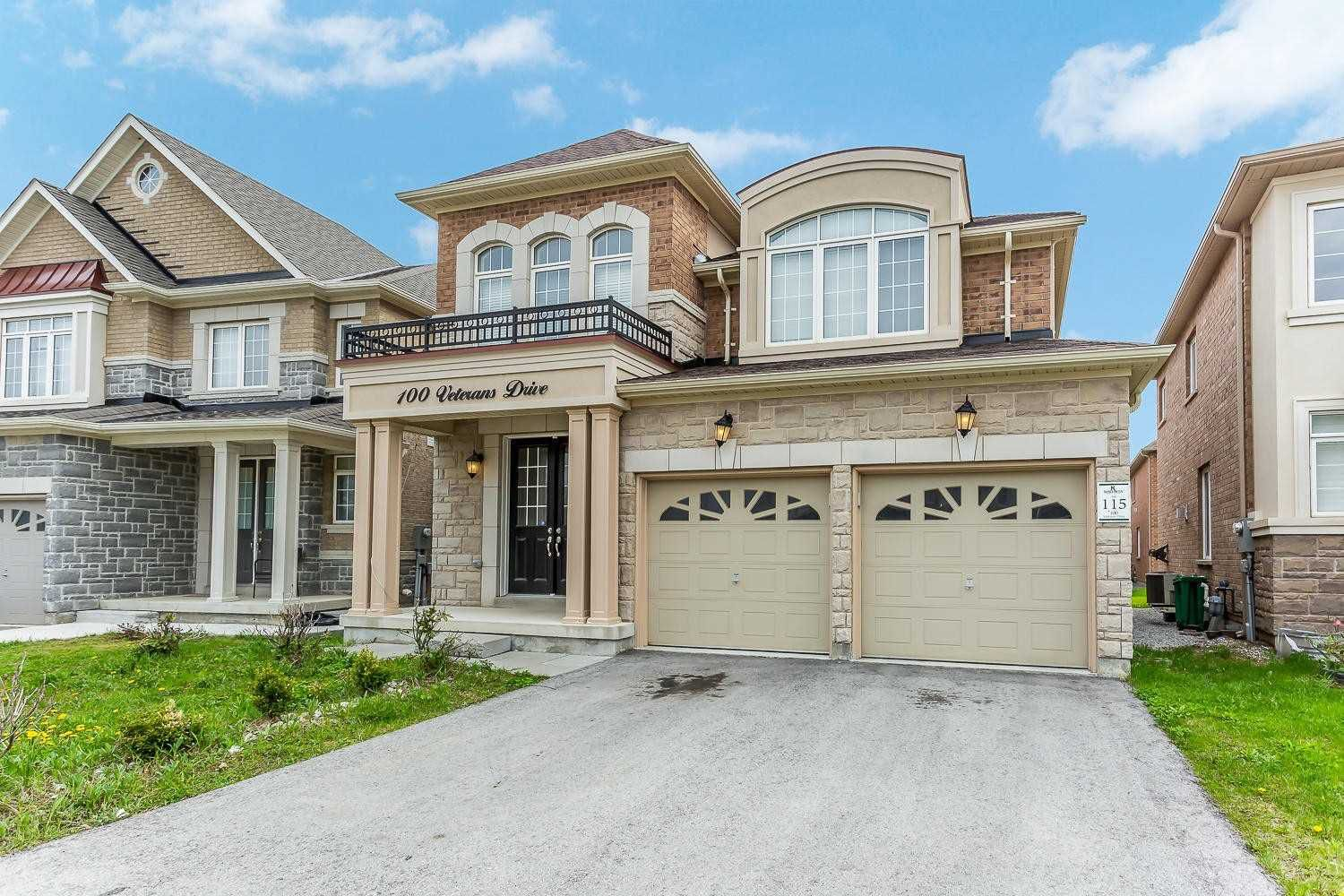 Main Photo: 100 Veterans Drive in Brampton: Northwest Brampton House (2-Storey) for sale : MLS®# W4460583