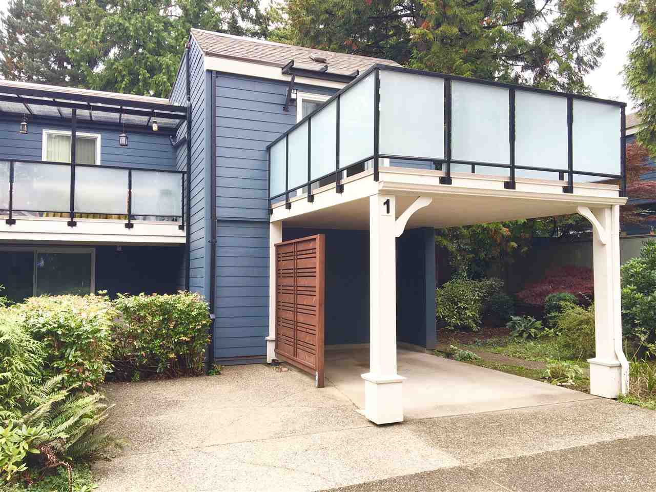 """Main Photo: 1 2590 AUSTIN Avenue in Coquitlam: Coquitlam East Townhouse for sale in """"AUSTIN WOODS"""" : MLS®# R2113961"""
