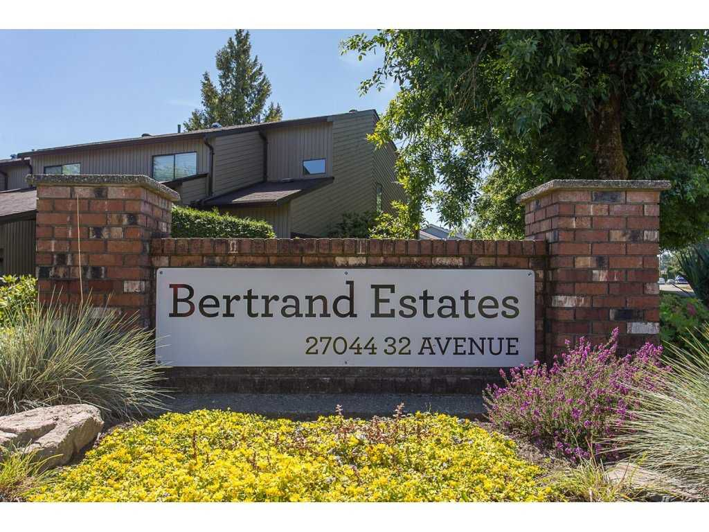 """Main Photo: 41 27044 32ND Avenue in Langley: Aldergrove Langley Townhouse for sale in """"Bertrand Estates"""" : MLS®# R2184826"""
