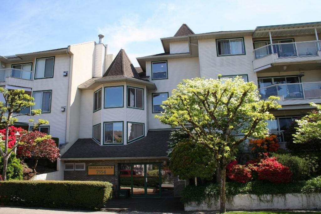 "Main Photo: 308 7554 BRISKHAM Street in Mission: Mission BC Condo for sale in ""Briskham Manor"" : MLS®# R2268194"