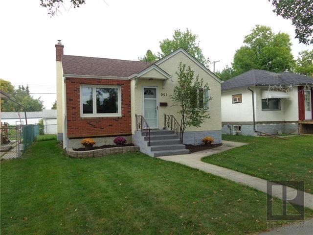 Main Photo: 951 Beach Avenue in Winnipeg: Residential for sale (3B)  : MLS®# 1819790
