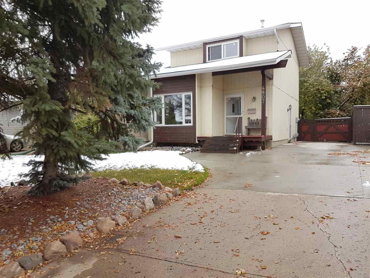 Main Photo: 4807 43 Avenue: Beaumont House Half Duplex for sale : MLS®# E4130426