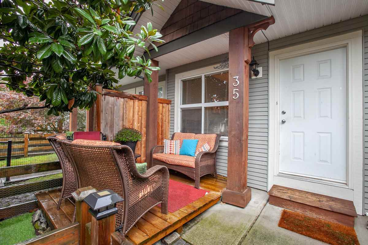 """Main Photo: 35 1055 RIVERWOOD Gate in Port Coquitlam: Riverwood Townhouse for sale in """"MOUNTAIN VIEW ESTATES"""" : MLS®# R2311419"""