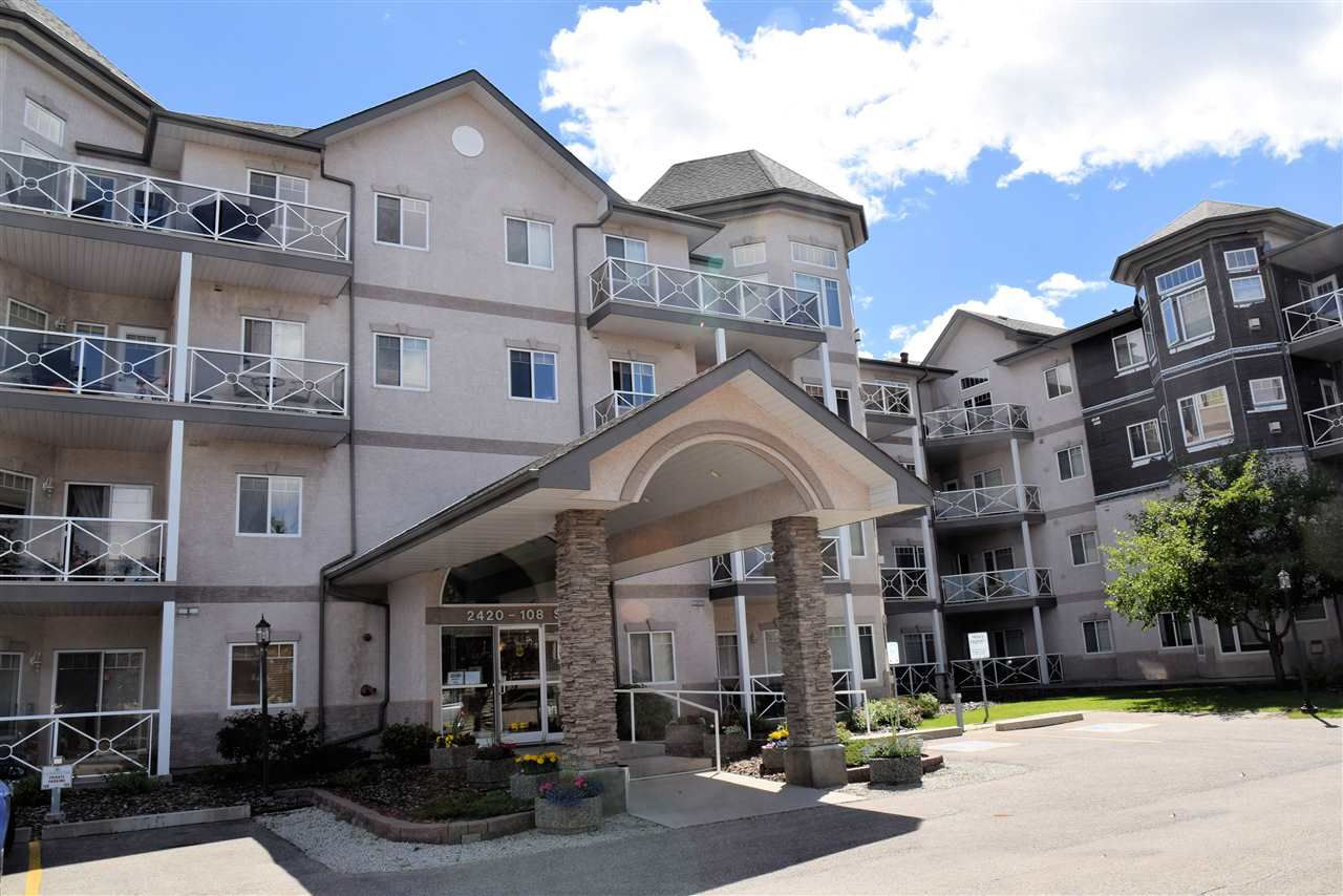 Main Photo: 211 2420 108 Street NW in Edmonton: Zone 16 Condo for sale : MLS®# E4142426
