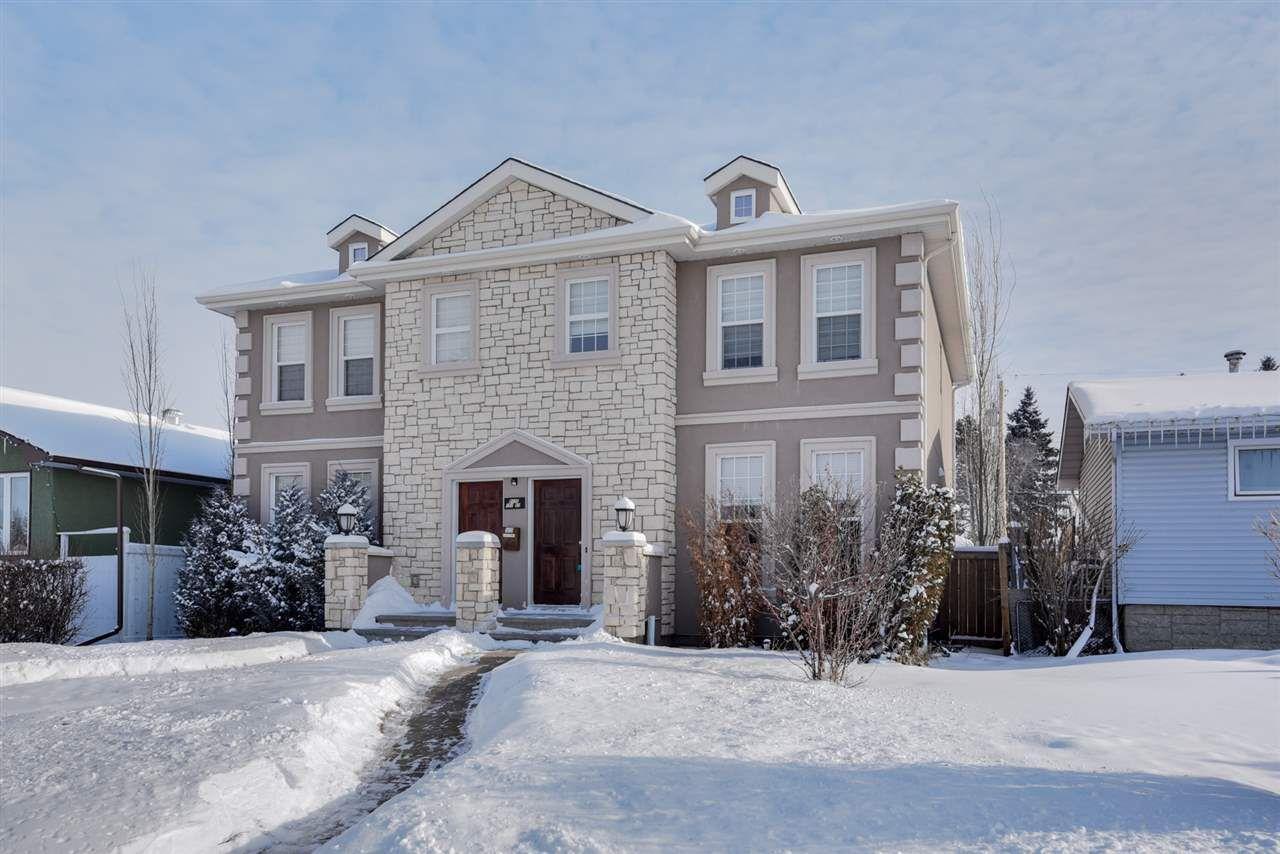Main Photo: 1 9135 151 Street in Edmonton: Zone 22 House Half Duplex for sale : MLS®# E4143398
