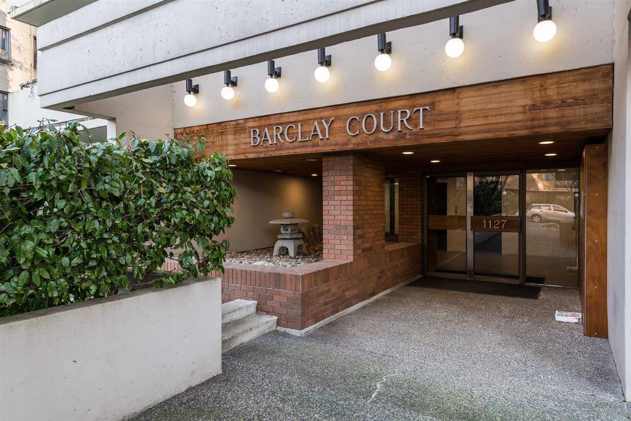 """Main Photo: 101 1127 BARCLAY Street in Vancouver: West End VW Condo for sale in """"THE BARCLAY"""" (Vancouver West)  : MLS®# R2340408"""