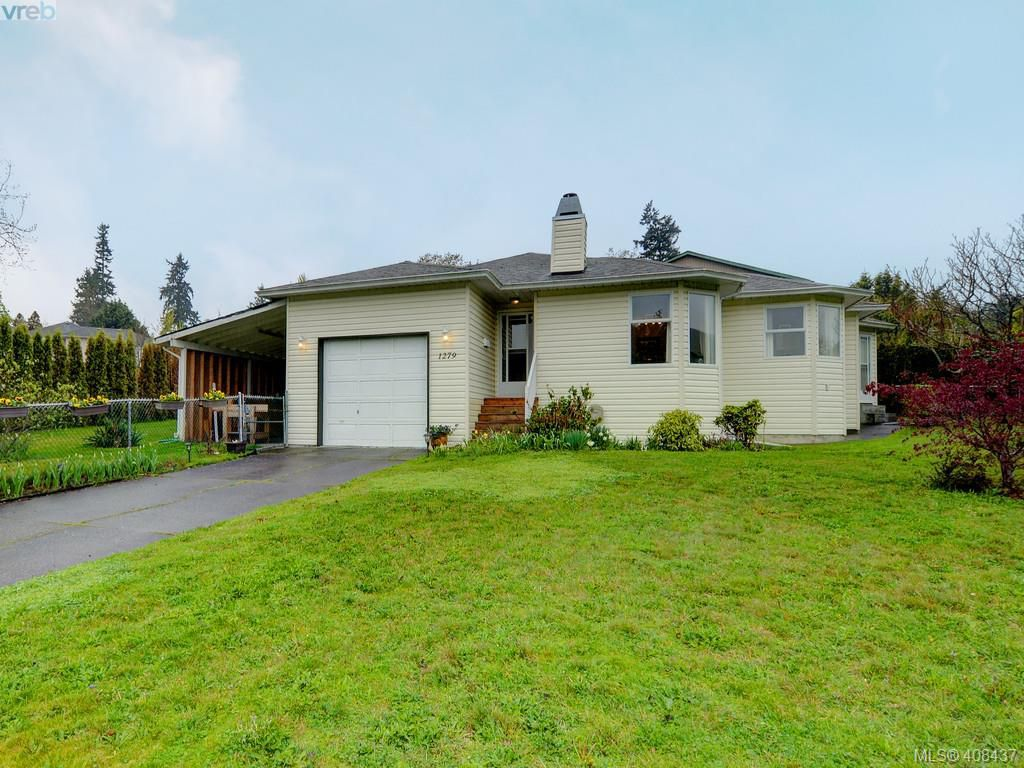 Main Photo: 1279 Lidgate Court in VICTORIA: SW Strawberry Vale Single Family Detached for sale (Saanich West)  : MLS®# 408437