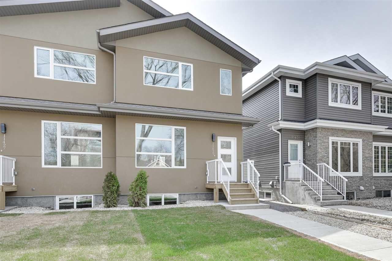 Main Photo: 11429 80 Avenue in Edmonton: Zone 15 House Half Duplex for sale : MLS®# E4156585