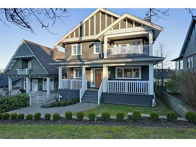 """Main Photo: 3868 HEATHER ST in Vancouver: Cambie House for sale in """"DOUGLAS PARK"""" (Vancouver West)  : MLS®# V1046332"""