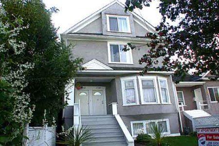 Main Photo: 148-152 East 26th Avenue: House for sale (Main)  : MLS®# 0363783