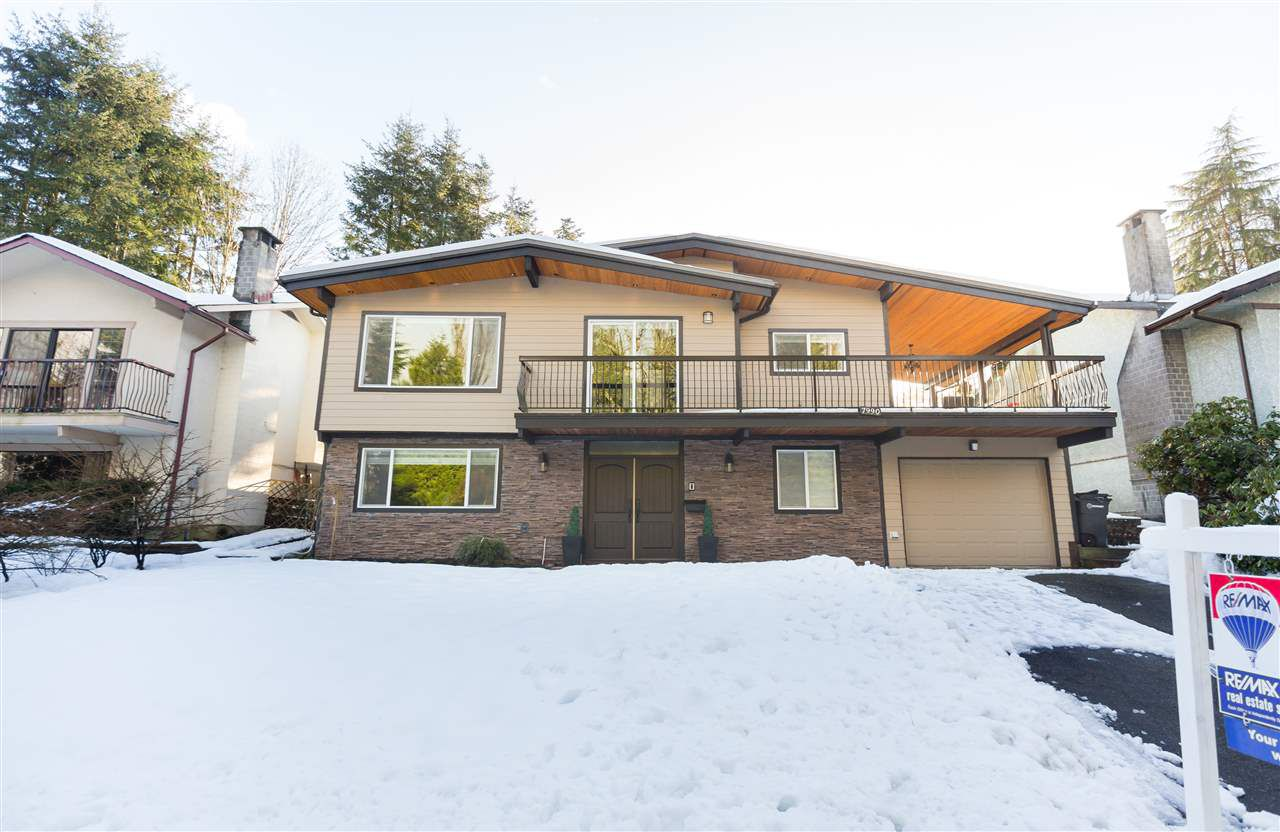 Main Photo: 7990 LAKEFIELD Drive in Burnaby: Burnaby Lake House for sale (Burnaby South)  : MLS®# R2133093