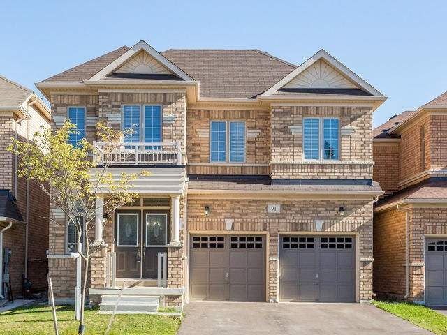Main Photo: 91 Thornbush Boulevard in Brampton: Northwest Brampton House (2-Storey) for sale : MLS®# W3957774
