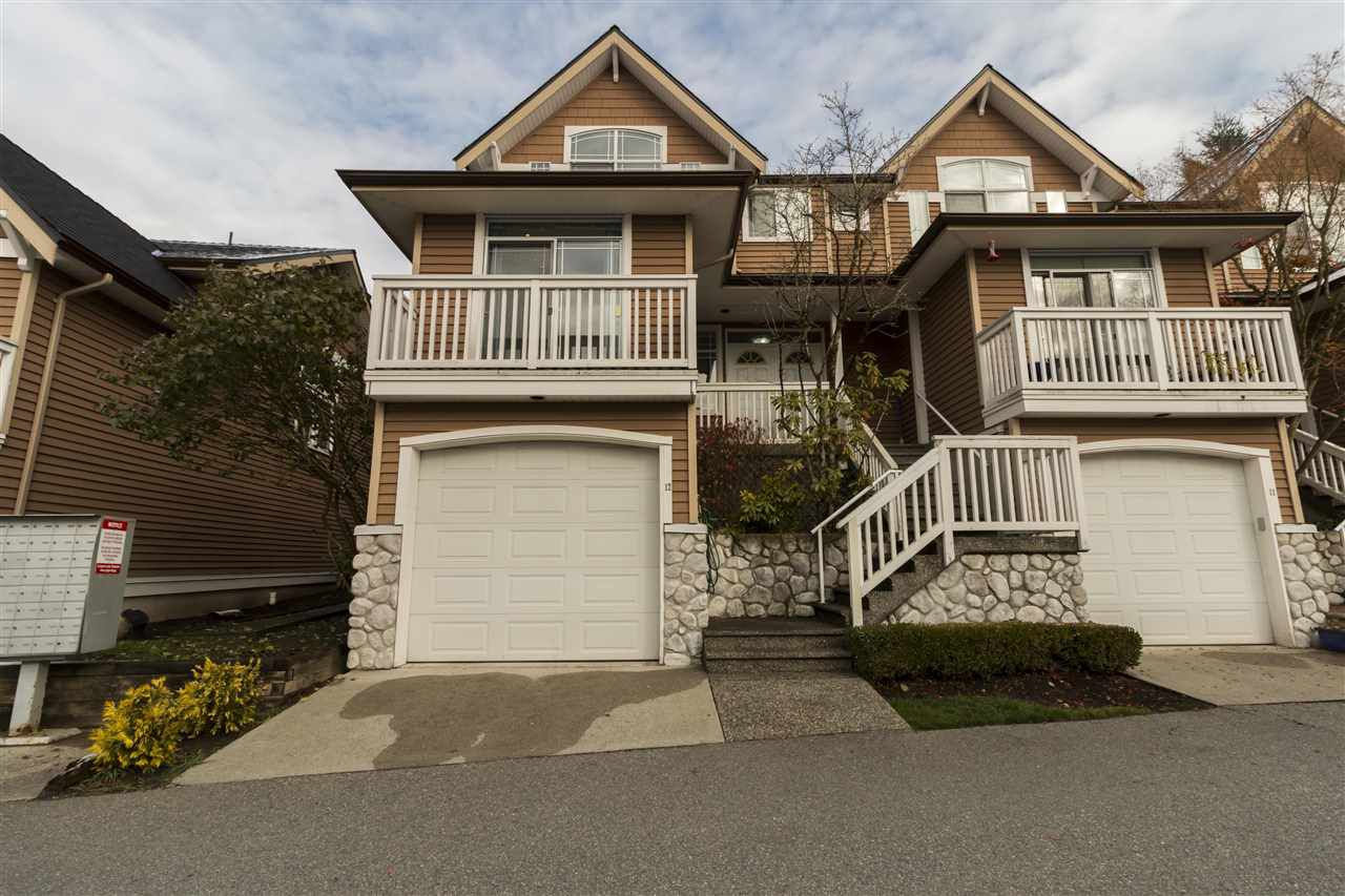 Main Photo: 12 1506 EAGLE MOUNTAIN Drive in Coquitlam: Westwood Plateau Townhouse for sale : MLS®# R2219921