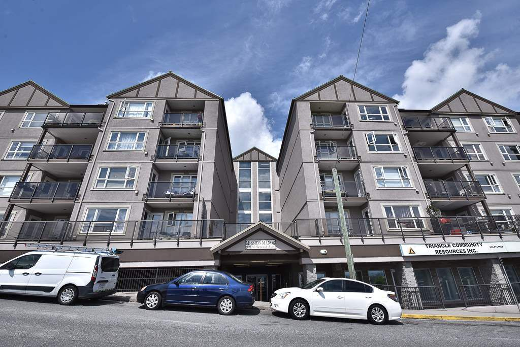 "Main Photo: 310 33165 2ND Avenue in Mission: Mission BC Condo for sale in ""Mission Manor"" : MLS®# R2266926"
