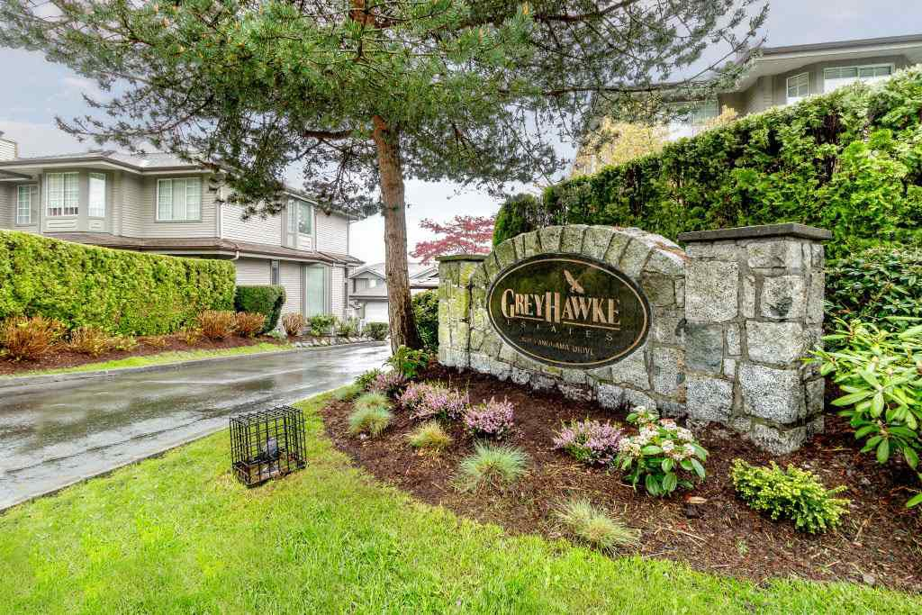 "Main Photo: 111 2880 PANORAMA Drive in Coquitlam: Westwood Plateau Townhouse for sale in ""Greyhawke"" : MLS®# R2360694"