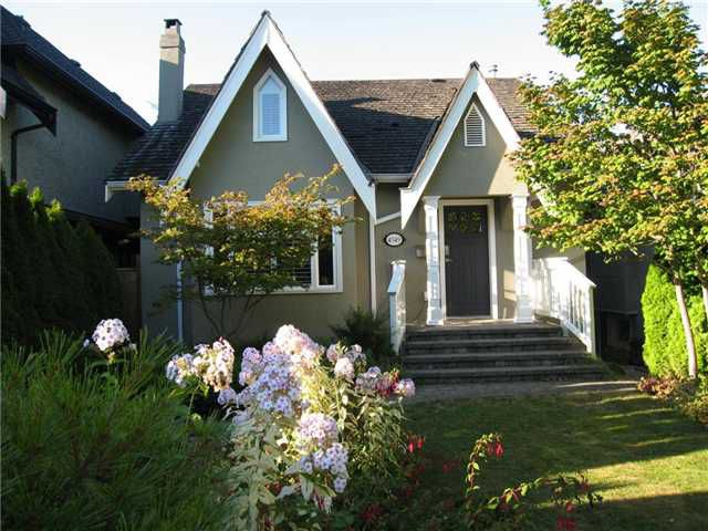 Main Photo: 4549 W 12TH Avenue in Vancouver: Point Grey House for sale (Vancouver West)  : MLS®# V968995