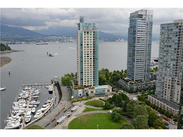 Main Photo: 2406 588 BROUGHTON STREET in : Coal Harbour Condo for sale : MLS®# V969003