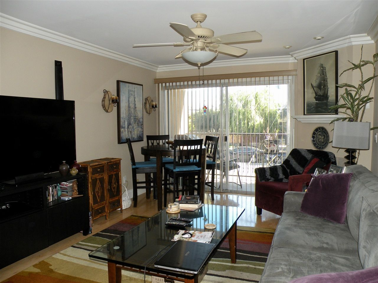 Main Photo: HILLCREST Condo for sale : 1 bedrooms : 3980 8th Ave #105 in San Diego