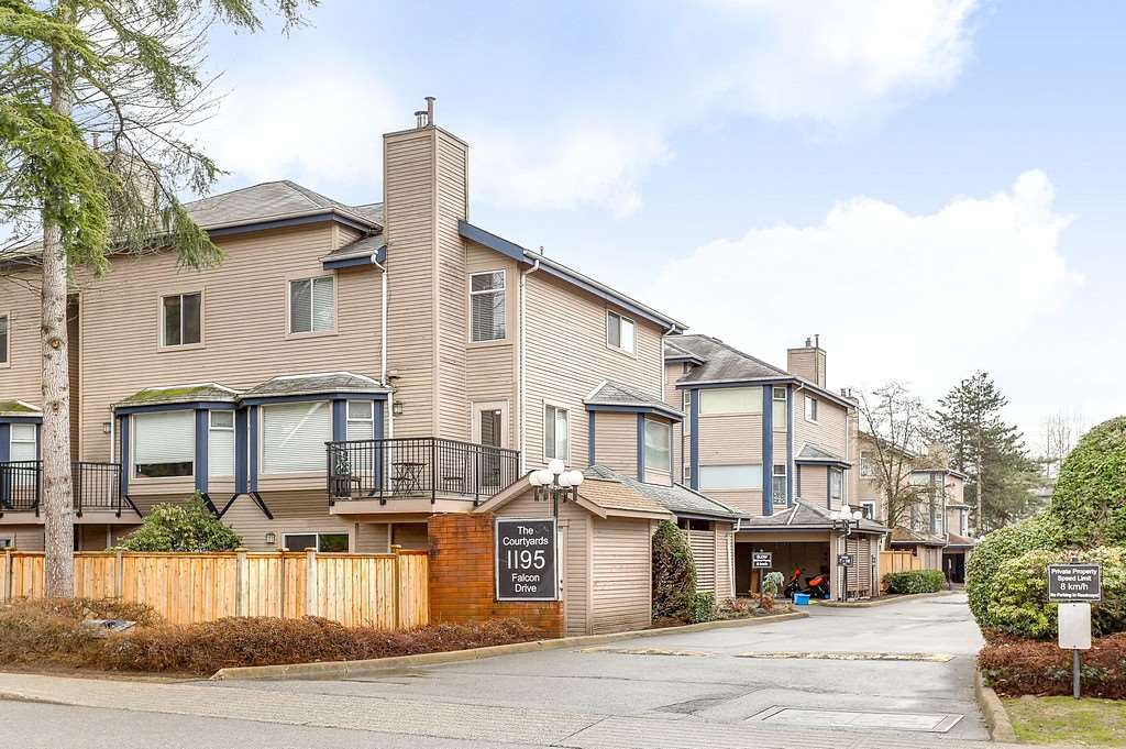 """Main Photo: 63 1195 FALCON Drive in Coquitlam: Eagle Ridge CQ Townhouse for sale in """"THE COURTYARDS"""" : MLS®# R2148279"""