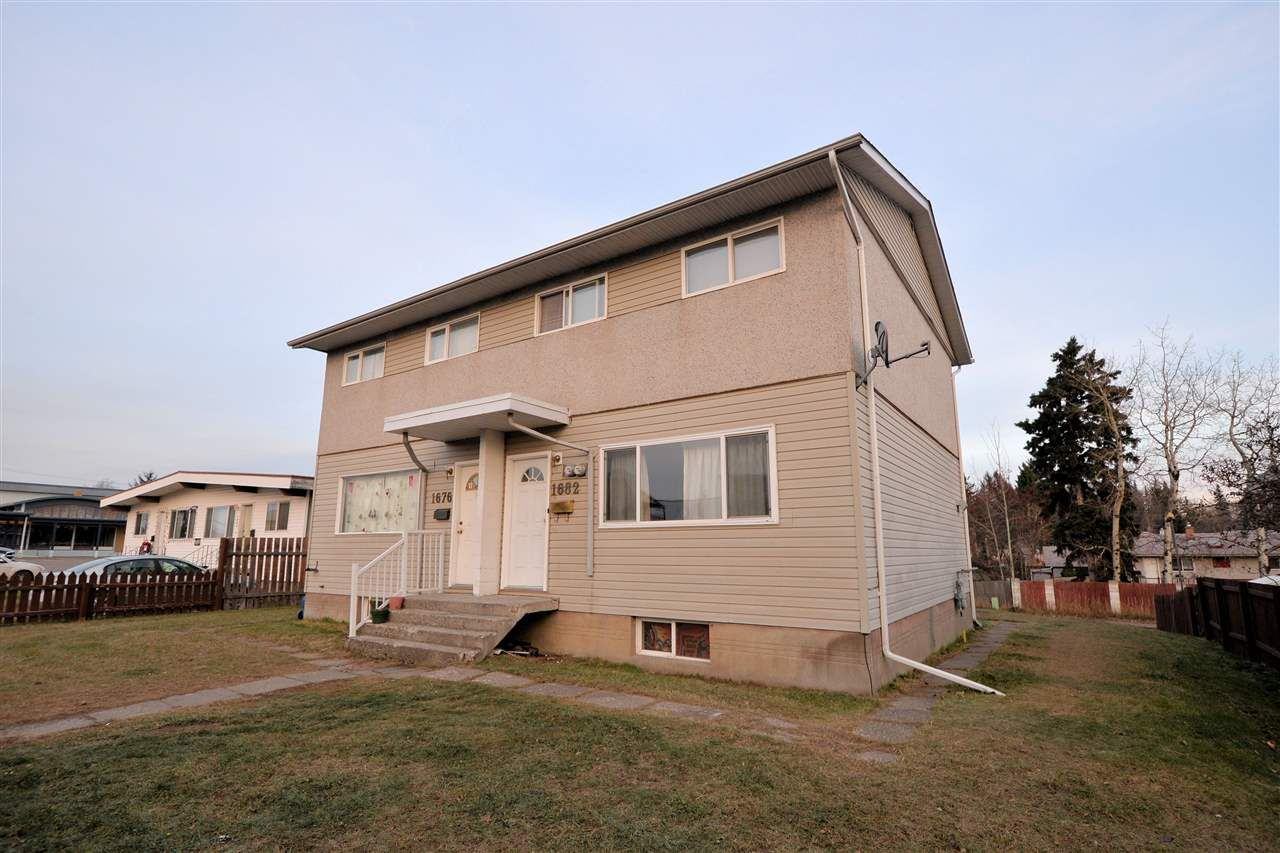 "Main Photo: 1676 - 1682 JOHNSON Street in Prince George: Seymour House Duplex for sale in ""SEYMOUR SUB"" (PG City Central (Zone 72))  : MLS®# R2220481"