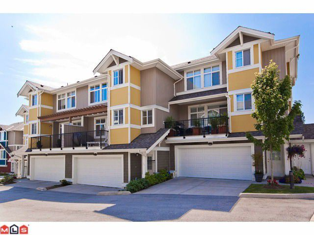 "Main Photo: 34 6036 164TH Street in Surrey: Cloverdale BC Townhouse for sale in ""Arbour Village"" (Cloverdale)  : MLS®# F1119585"