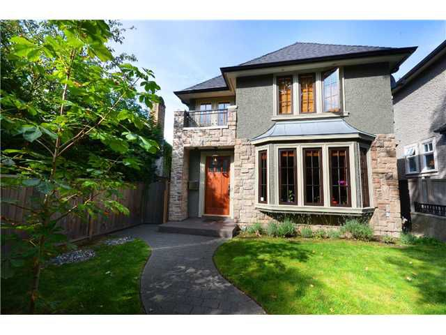 "Main Photo: 4683 W 15TH Avenue in Vancouver: Point Grey House for sale in ""Point Grey"" (Vancouver West)  : MLS®# V1036495"