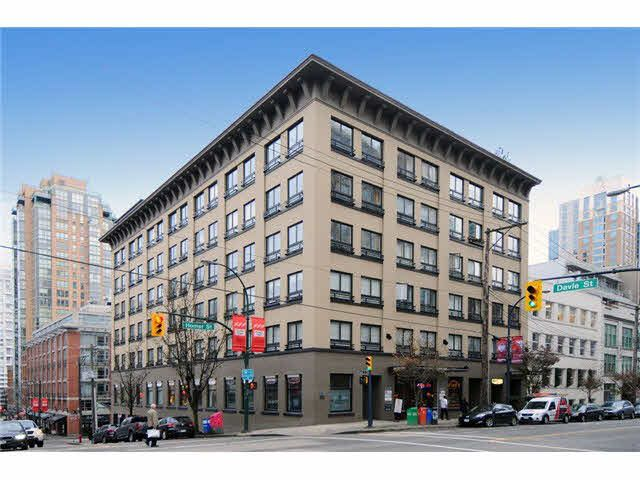 """Main Photo: 512 1216 HOMER Street in Vancouver: Yaletown Condo for sale in """"The Murchies Building"""" (Vancouver West)  : MLS®# V1097645"""