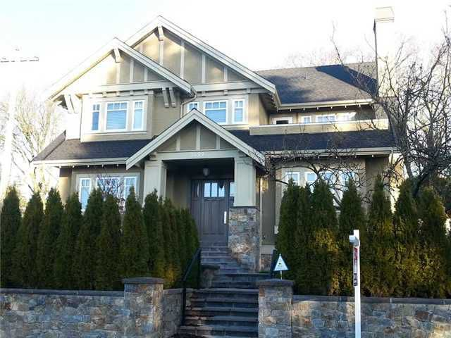 Main Photo: 3499 W 39TH Avenue in Vancouver: Dunbar House for sale (Vancouver West)  : MLS®# V1098669