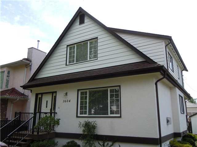 Main Photo: 3604 NAPIER Street in Vancouver: Renfrew VE House for sale (Vancouver East)  : MLS®# V1121247