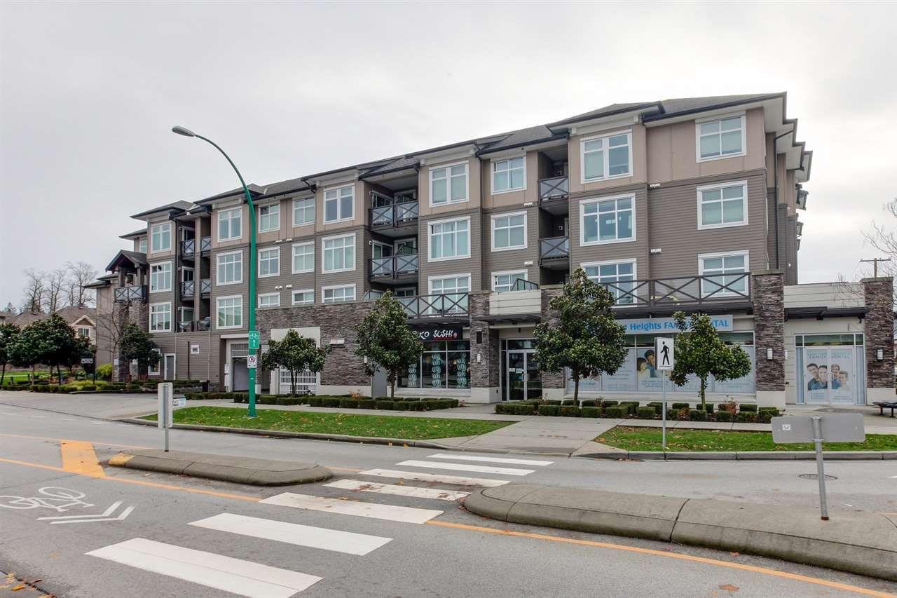 "Main Photo: 201 18818 68 Avenue in Surrey: Clayton Condo for sale in ""Calera"" (Cloverdale)  : MLS®# R2225789"