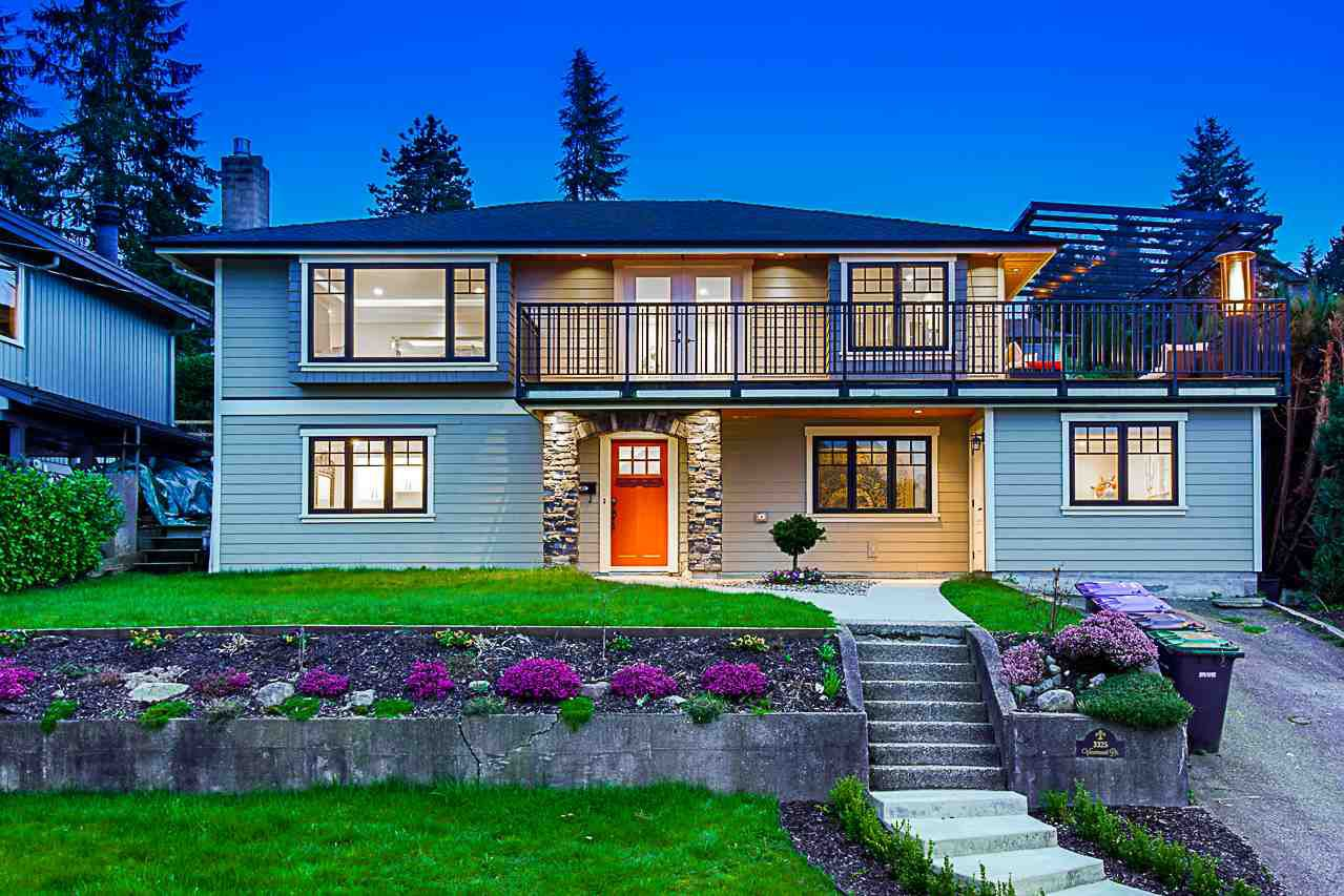 Main Photo: 3325 VIEWMOUNT Drive in Port Moody: Port Moody Centre House for sale : MLS®# R2257161