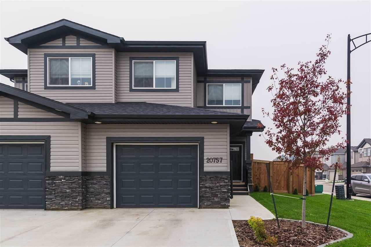 Main Photo: 20757 99A Avenue in Edmonton: Zone 58 House Half Duplex for sale : MLS®# E4125856