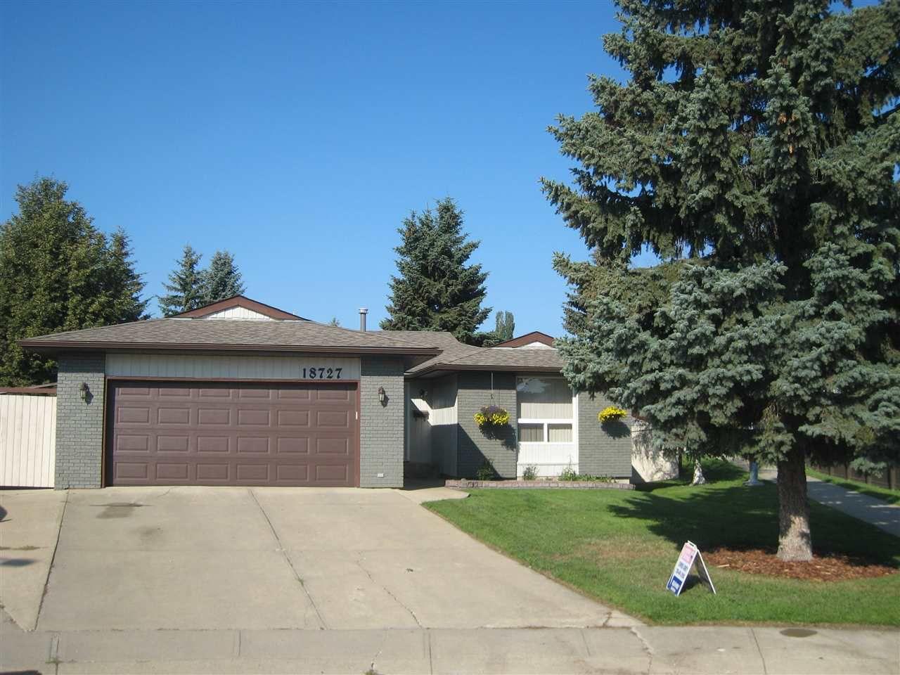 Main Photo: 18727 64 Avenue in Edmonton: Zone 20 House for sale : MLS®# E4133865
