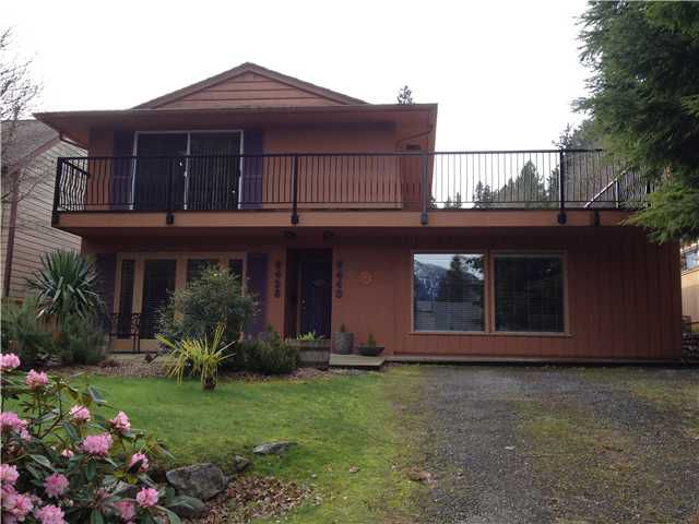 Main Photo: 6440 DOUGLAS Street in West Vancouver: Horseshoe Bay WV Multifamily for sale : MLS®# V994340