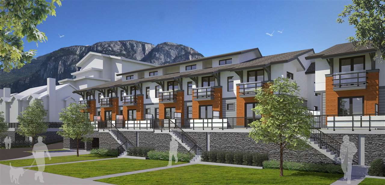"""Main Photo: 66 1188 MAIN Street in Squamish: Downtown SQ Townhouse for sale in """"SOLEIL AT COASTAL VILLAGE"""" : MLS®# R2166096"""
