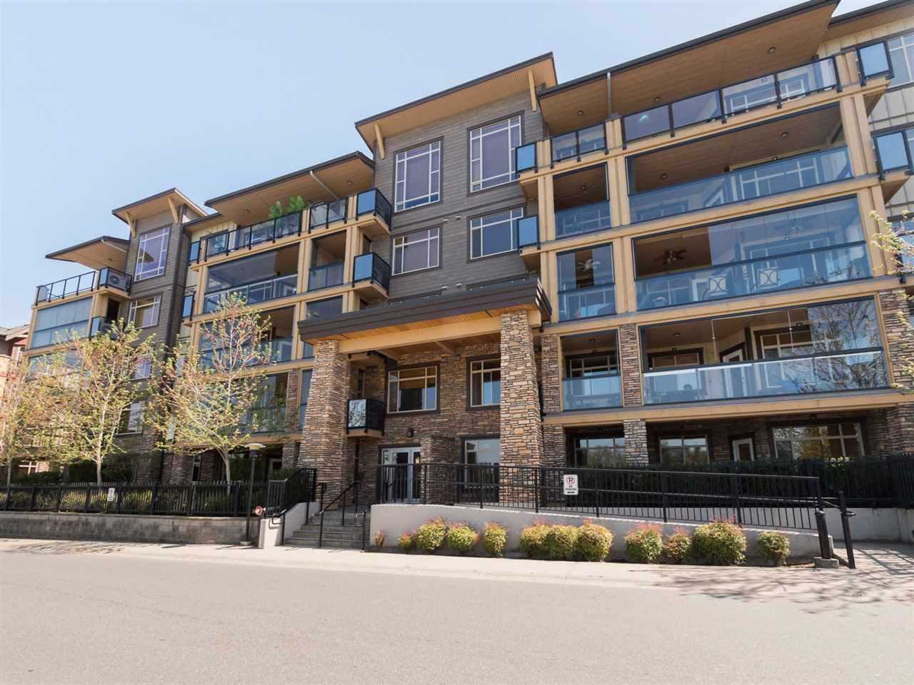 "Main Photo: 207 8258 207A Street in Langley: Willoughby Heights Condo for sale in ""Yorkson Creek"" : MLS®# R2262633"