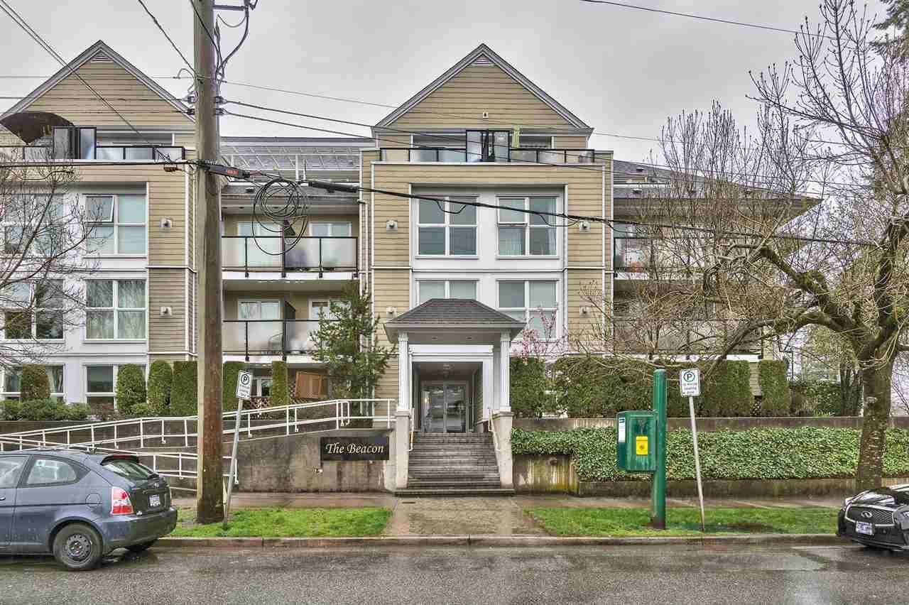 "Main Photo: 206 1519 GRANT Avenue in Port Coquitlam: Glenwood PQ Condo for sale in ""THE BEACON"" : MLS®# R2280166"
