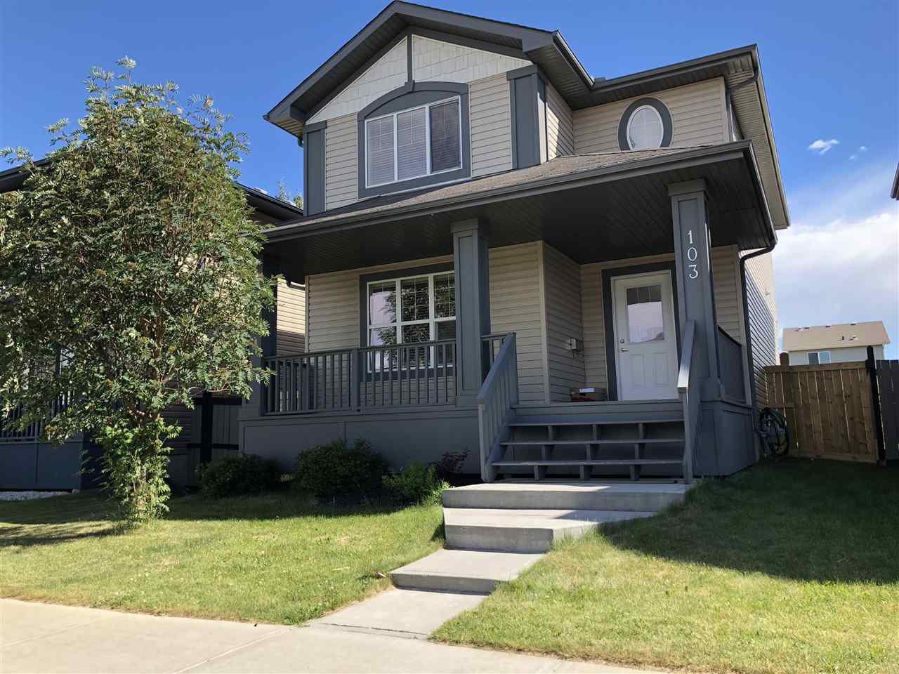 Main Photo: 103 Keystone Lane: Leduc House for sale : MLS®# E4119148
