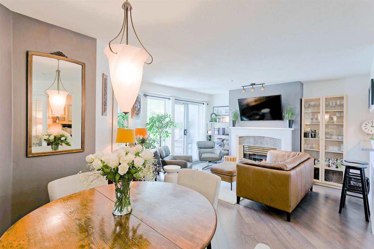 Main Photo: 207 8430 JELLICOE Street in Vancouver: Fraserview VE Condo for sale (Vancouver East)  : MLS®# R2286156