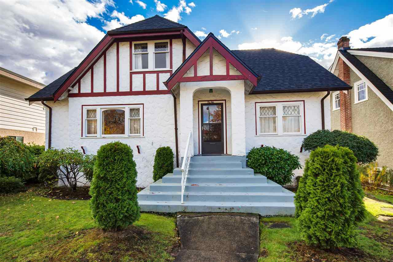Main Photo: 2466 W 15TH Avenue in Vancouver: Kitsilano House for sale (Vancouver West)  : MLS®# R2321109