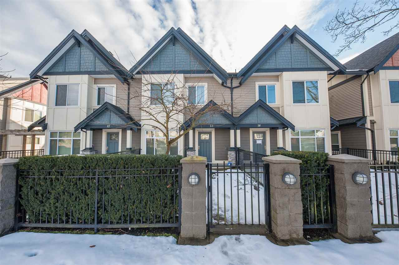 Main Photo: 13 7028 ASH Street in Richmond: McLennan North Townhouse for sale : MLS®# R2343631