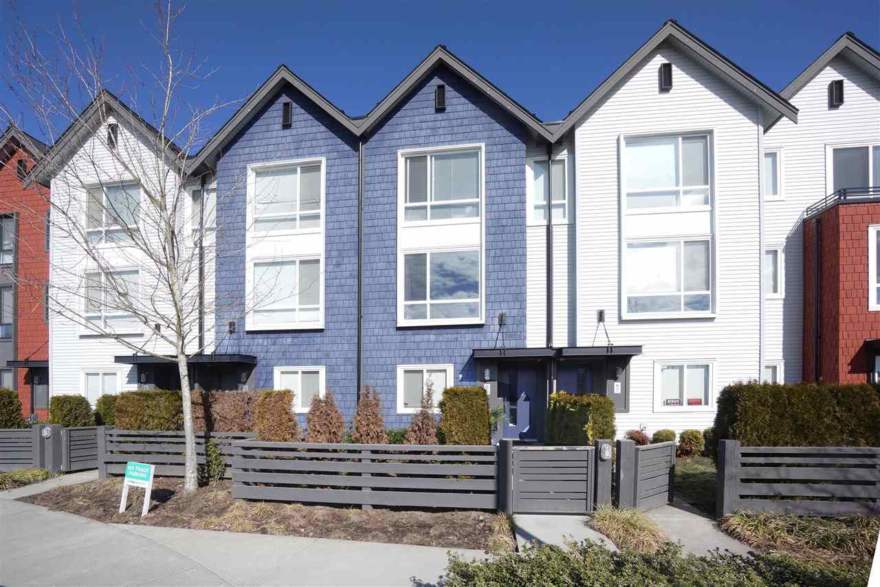 "Main Photo: 66 2310 RANGER Lane in Port Coquitlam: Riverwood Townhouse for sale in ""FREMONT BLUE"" : MLS®# R2346448"