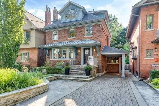 Main Photo: 19 St Andrews Gardens in Toronto: Rosedale-Moore Park House (2 1/2 Storey) for sale (Toronto C09)  : MLS®# C4395576